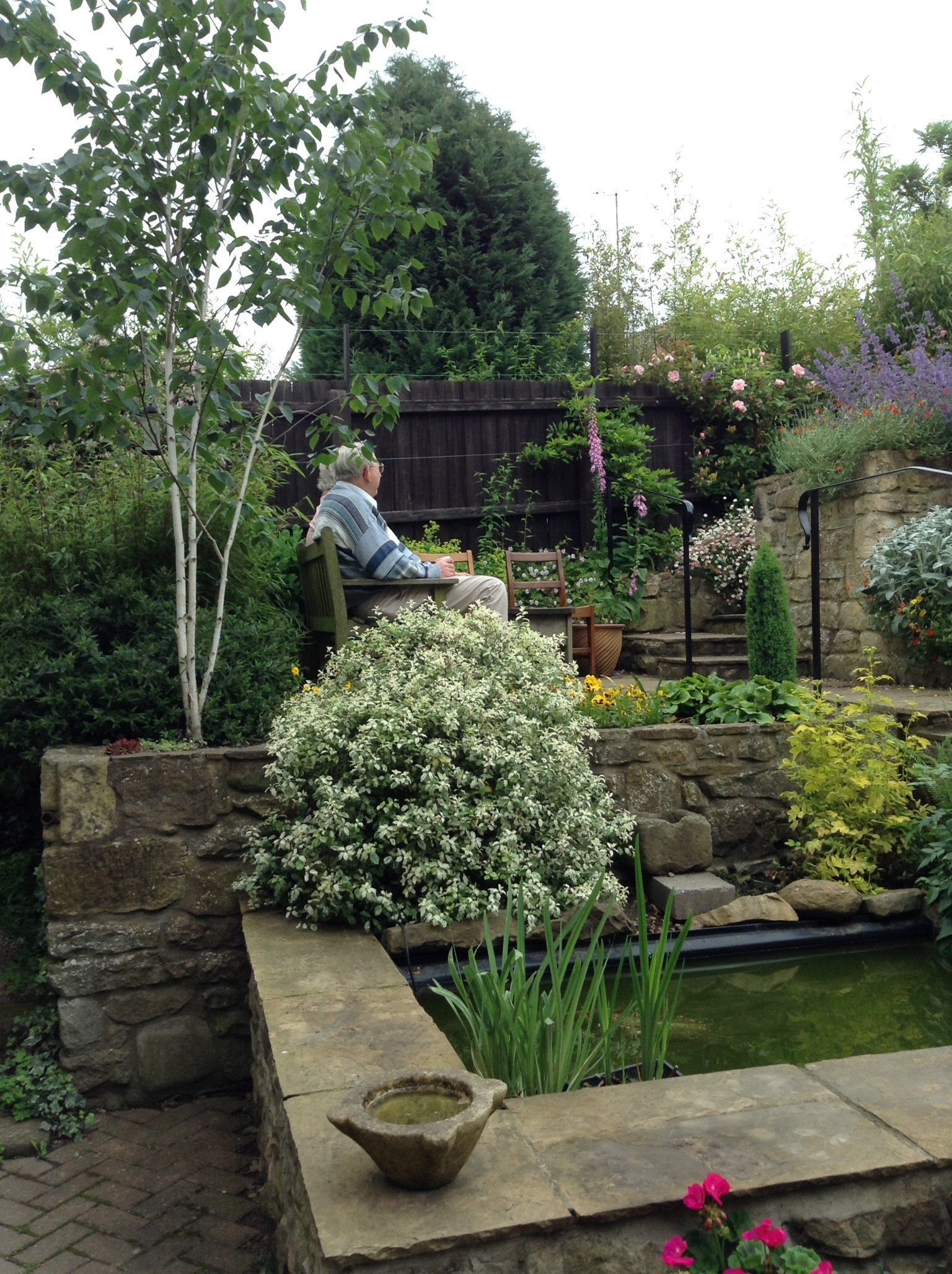 Brenda And Anthony Opened Their Newly Designed Garden In Early Summer.